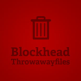 Blockhead - Throwaway files the return! Vol. 2