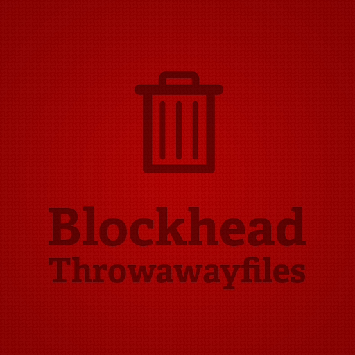 Blockhead - Throwaway files the return! Vol. 2