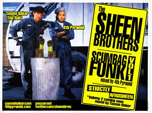 The Sheen Brothers (DJ Cosmo Baker + 4th Pyramid) -  Scumbag Funk Vol. 1