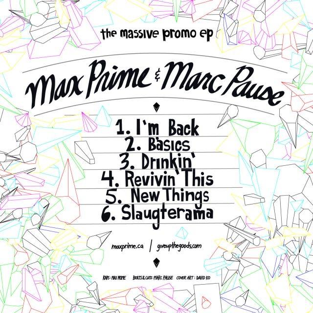 Marc Pause & Max Prime - Massive Promo EP