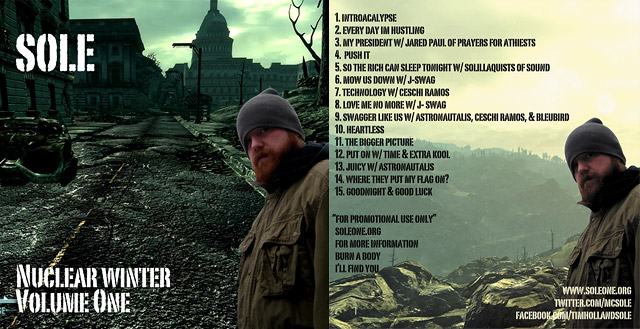 Sole - Nuclear Winter: Volume One [mixtape download]