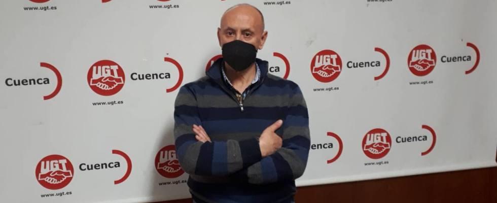 Mariano Cuesta, secretario general de FeSMC UGT Cuenca.
