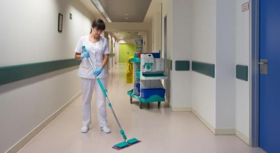 limpieza hospital