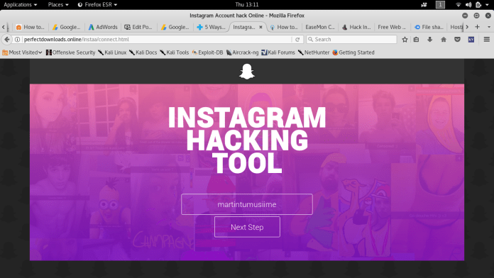 98% Proven Tips to hack Instagram account password 2019 (Less Coding)