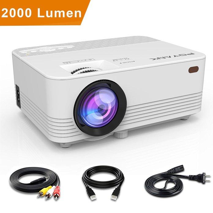 Poyank 200 lumen mini projector