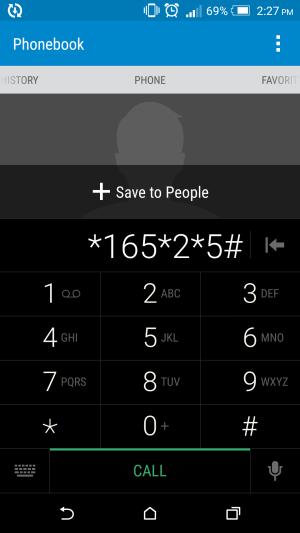 Dial *165*2*5# social media tax