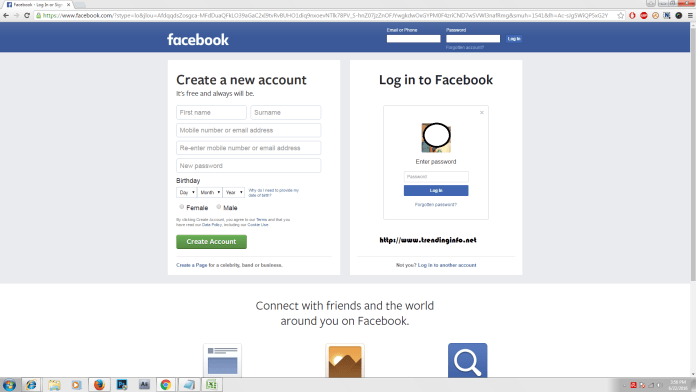 How turn on profile picture login facebook