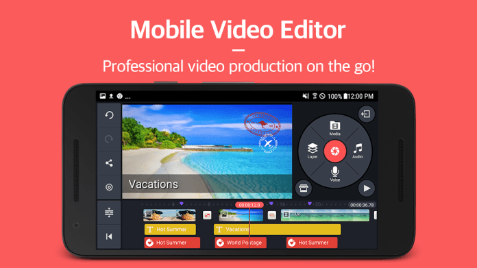 Kinemaster Best Apps for Journalists