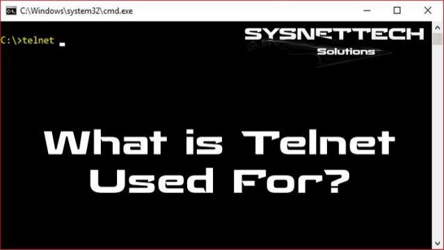 Telnet Commands Windows 10 - UG TECH MAG