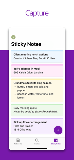 Sync sticky notes to iphone 2- ugtechmag.com