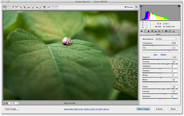 open images in Photoshop camera raw- ugtechmag4