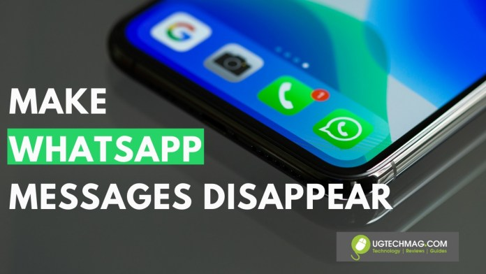 Whatsapp disappearing messages feature - ugtechmag.com - 3