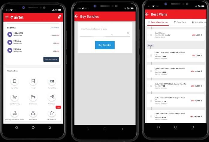 How To Activate Airtel Uganda Chillax Bundles using my Airtel App