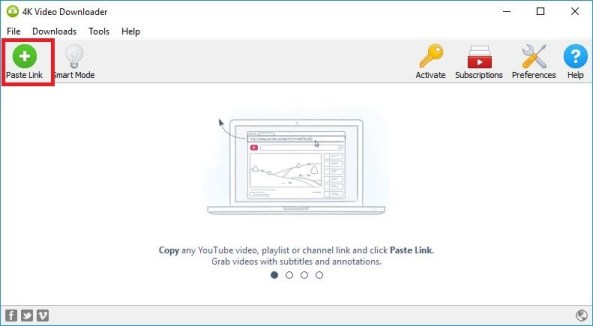 download a youtube playlist at once with 4K video downloader