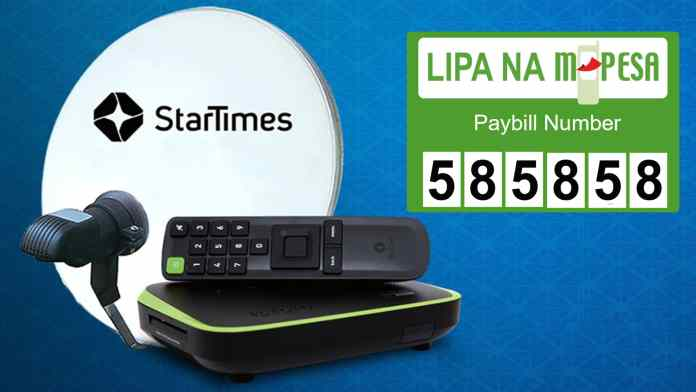 Pay StarTimes Subscription via MPESA