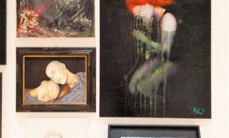 """Photo of Grande successo per la mostra """"Il Bianco e il Nero"""" e la presentazione del romanzo """"Raccomandata semplice"""" della giornalista Eleonora Persichetti"""