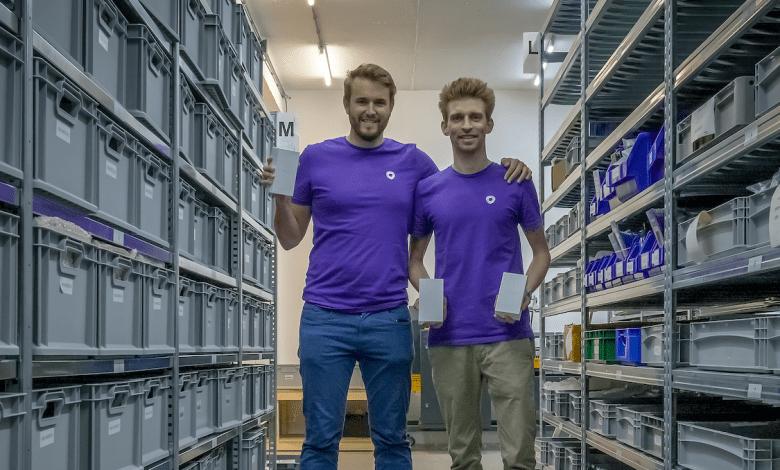 Nella foto i fondatori di Refurbed Peter Windischhofer e Kilian Kaminski.