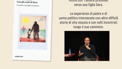 """Photo of Davide Faraone presenta a Ciampino """"Con gli occhi di Sara"""""""