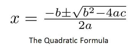 No. 2983: In Defense of Quadratic Equations