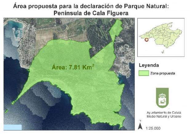 Calvià pide la máxima protección para la zona virgen de Cala Figuera - Rafaubetx.