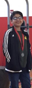 Pritt with medal