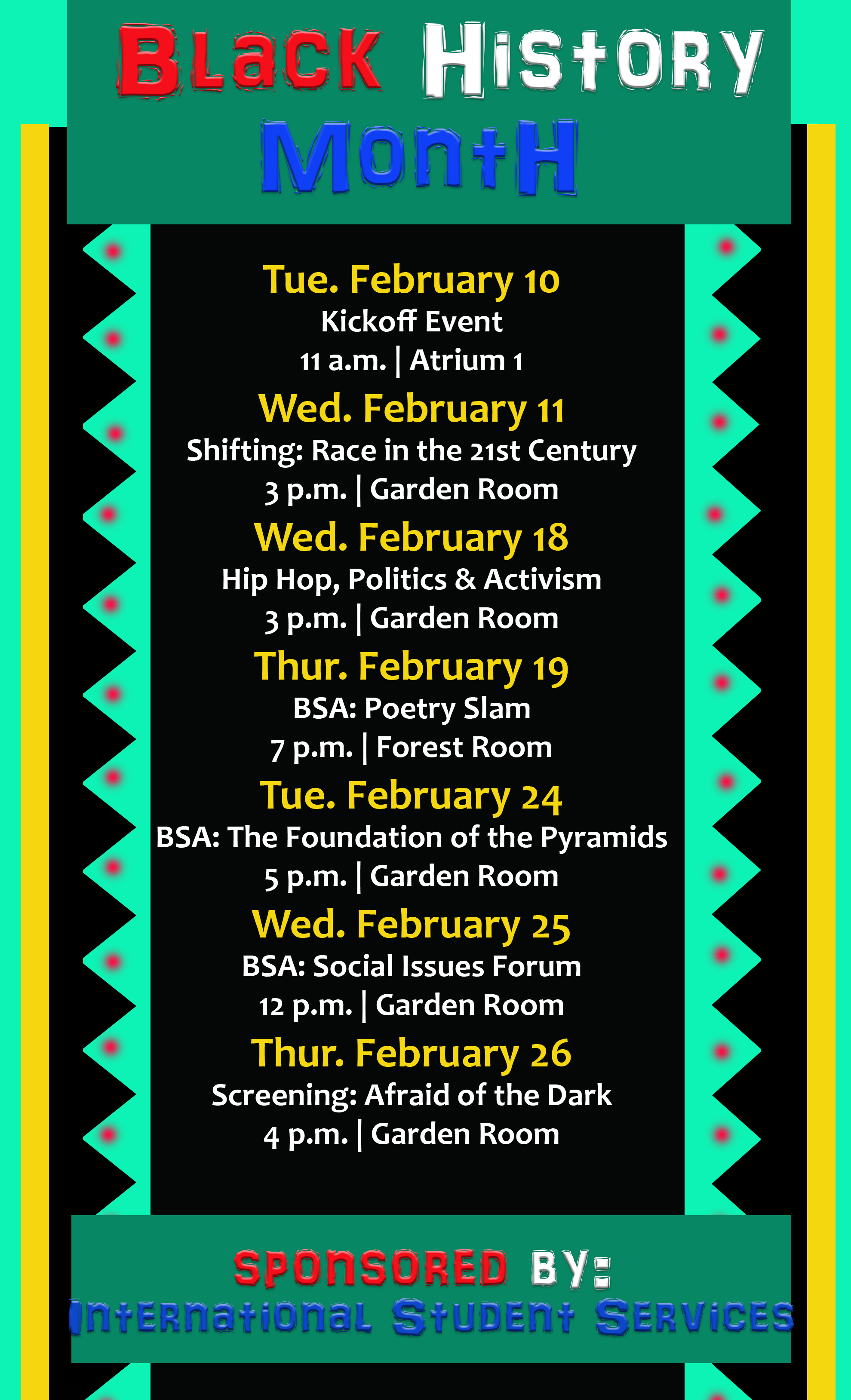 Black History Month Still Relevant For Everyone Uhcl