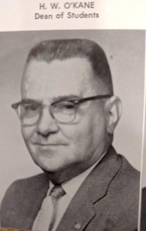 O'Kane in 1957