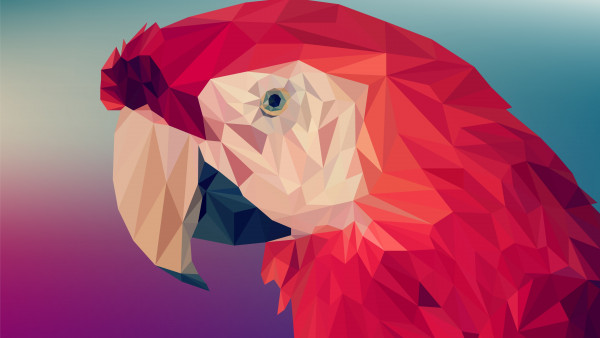 Best Wallpapers For Iphone X Reddit Low Poly Art Red Parrot 4k Wallpapers 3840x2160 For