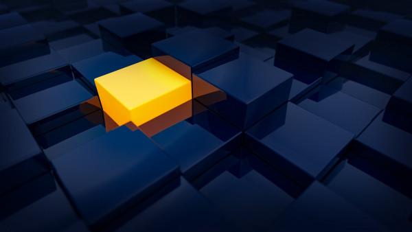 3d Cube Wallpaper Hd The Orange Cube Hd Wallpapers 1920x1080 Desktop
