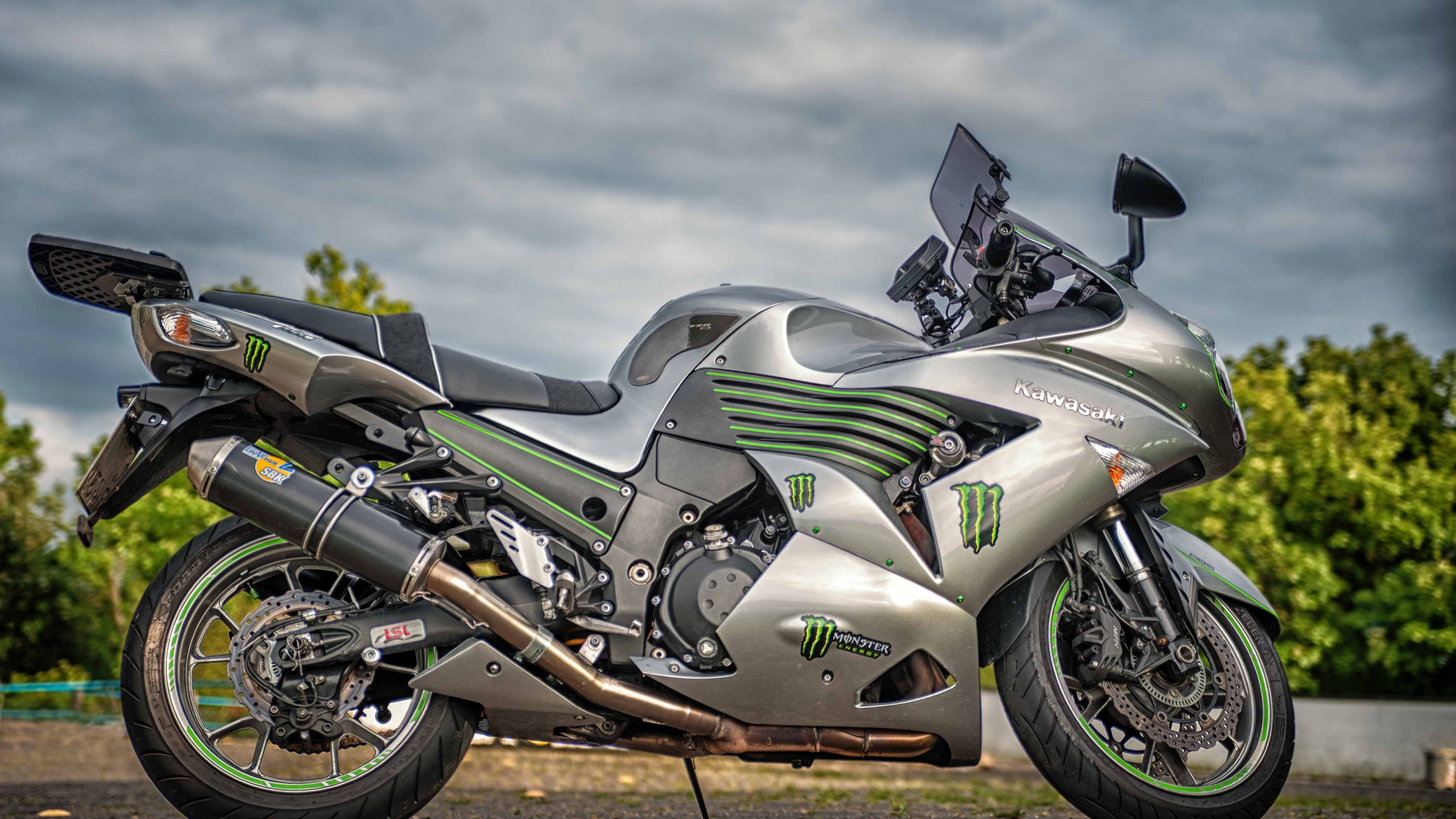 Wallpaper Hd The Best Download Wallpaper Kawasaki Zzr1400 3840x2160