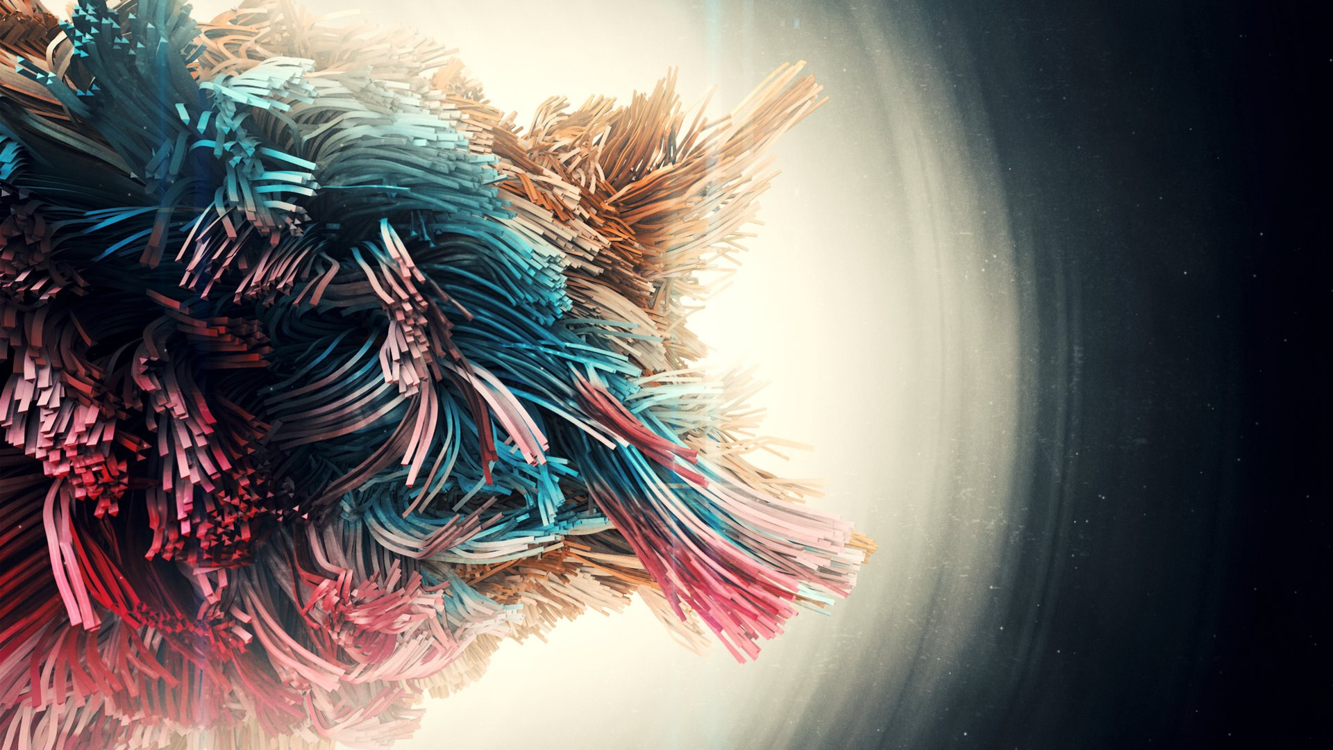 Download Wallpaper Beings Abstract Art 1920x1080