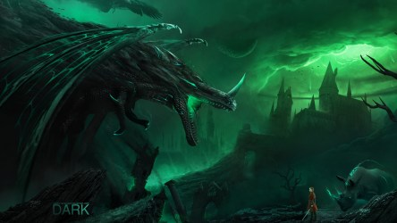 Download wallpaper: The dark creatures are coming 2560x1440