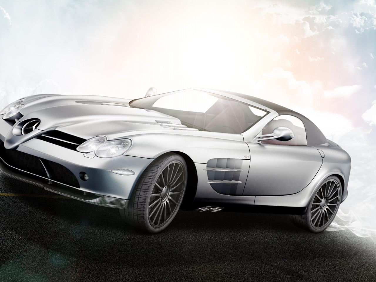 Download wallpaper: Mercedes Benz Mclaren SLR 722S 1280x960