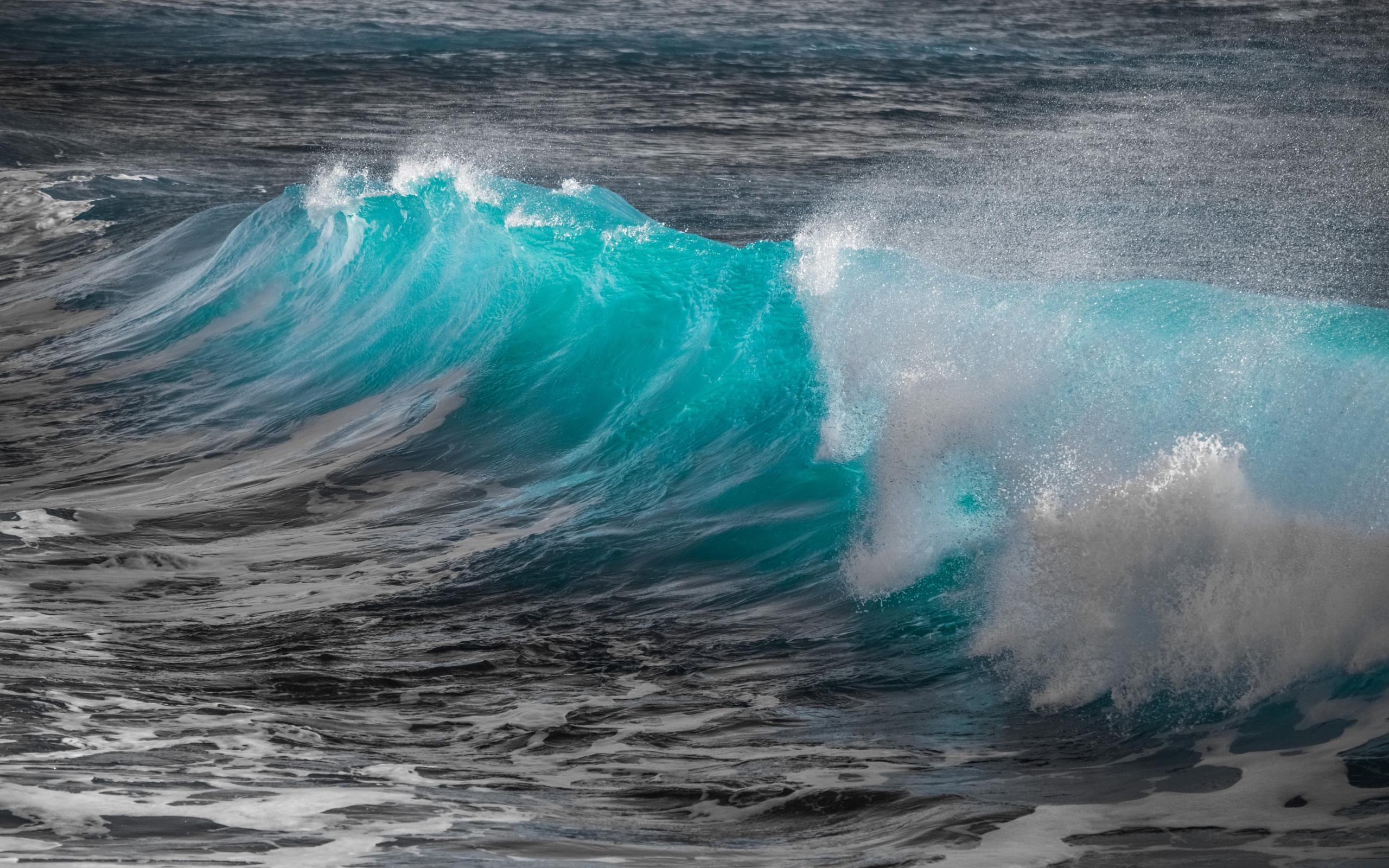 Wallpaper Hd 4k Download Wallpaper Turquoise Sea Wave 2560x1600