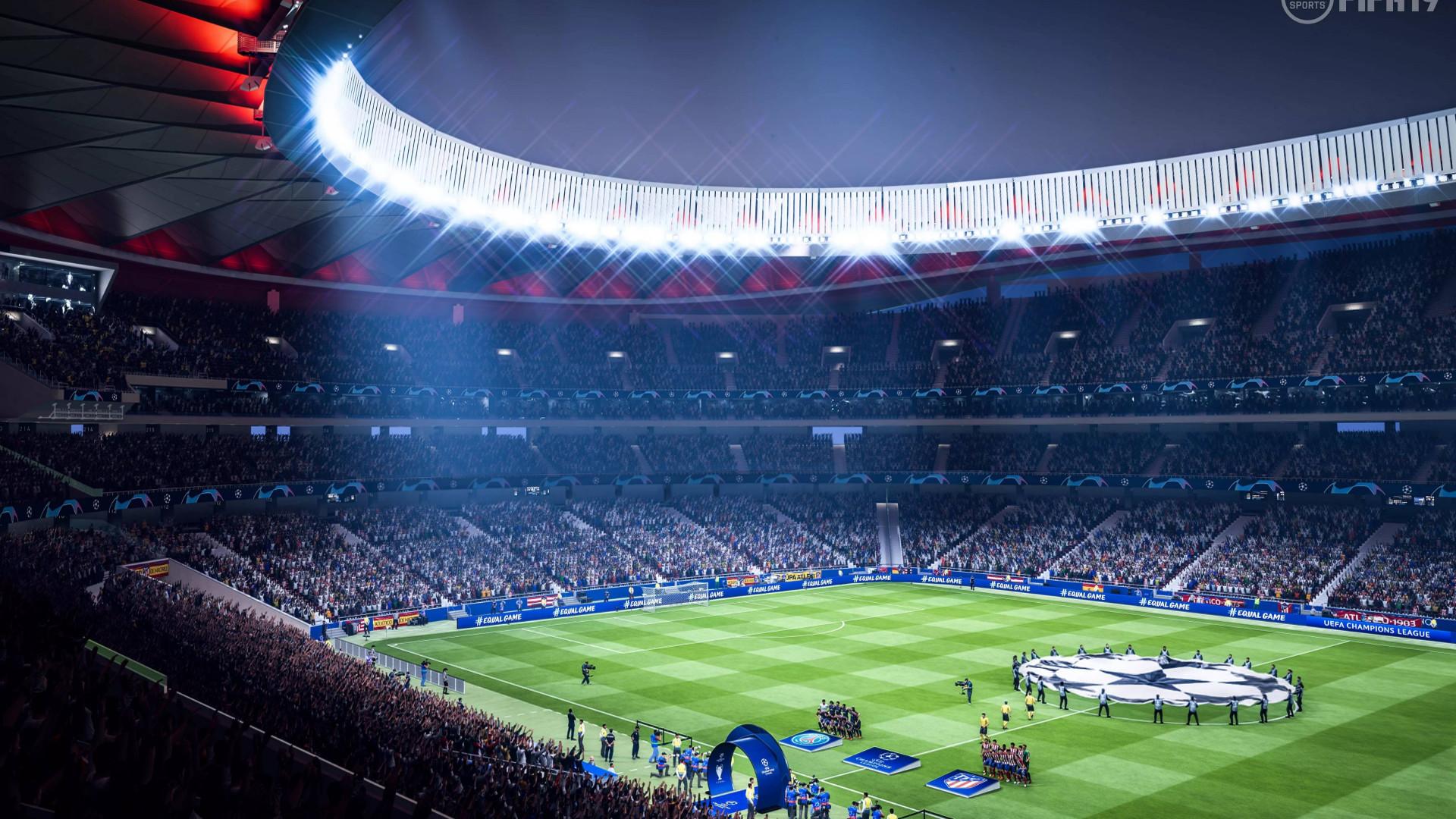 Download Wallpaper Fifa 19 Stadium 1920x1080