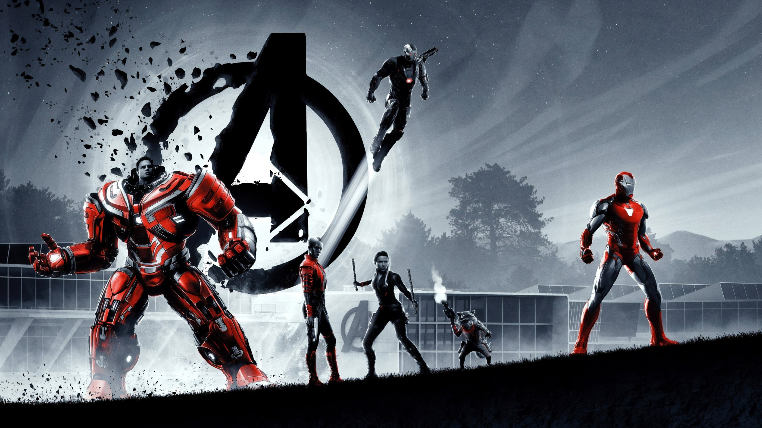Vertical Wallpaper Hd Download Wallpaper Avengers Endgame Superheroes 2560x1440