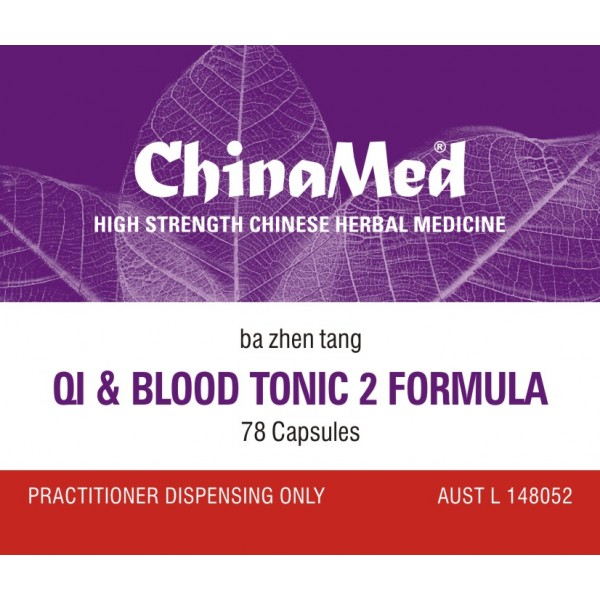 Ba Zhen Tang, Qi and Blood Tonic 2 Formula