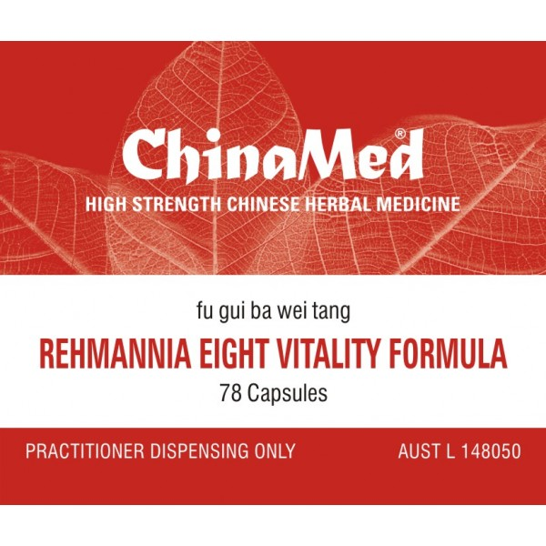 Fu Gui Ba Wei Tang, Rehmannia Eight Vitality Formula