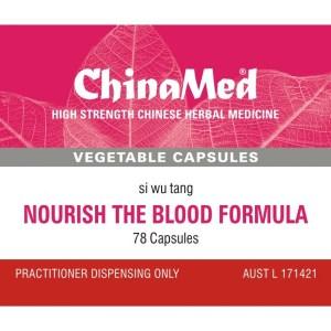 Si Wu Tang, Nourish The Blood Formula