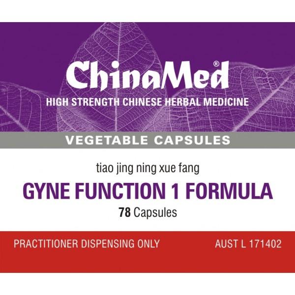 Tiao Jing Ning Xue Fang, Gyne Function 1 Formula