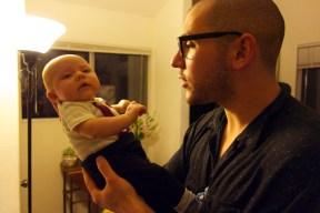 Gid with Amanda show baby 1
