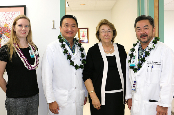 Department of Surgery: Faculty doctors opens new clinic in Honolulu