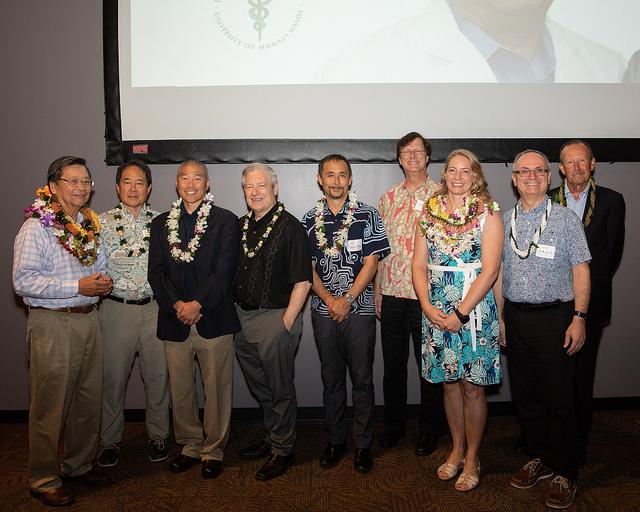 Department of OB/GYN: Hilo celebrates Dr. John Uohara and Dr. Emilie Stickley