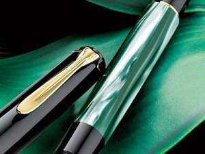 Schreibware KREMO Salzburg Pelikan Druckbleistift - Classic D200 - Grün-Marmoriert KREMO_Salzburg_Pelikan_Druckbleistift_classic-200-green-marbled-detail