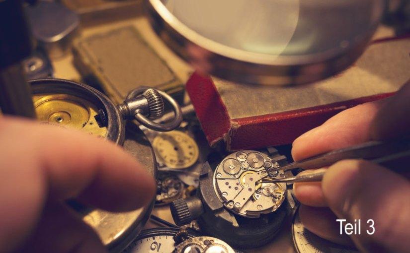 Alter von Taschenuhren bestimmen – Teil 3