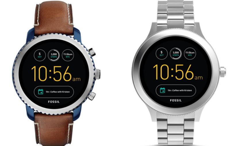 Fossil stellt neue Smartwatches mit Android 2.0 vor