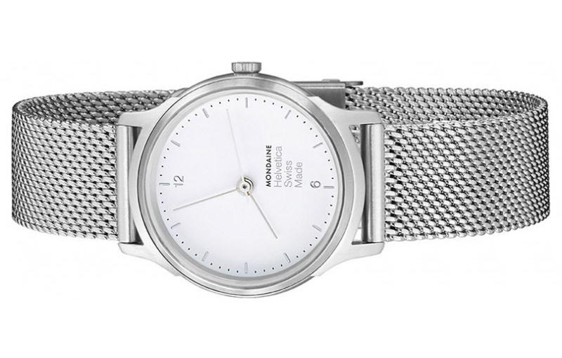 Der Klassiker der Typografen – Helvetica – inspirierte die Schweizer Uhrenmarke Mondaine