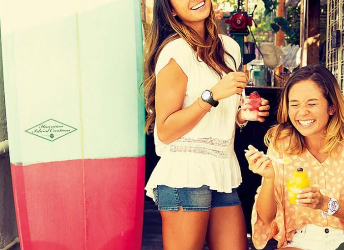 Die Damenuhren der G-Shock Kollektion –  BABY-G  –  verbreiten gute Sommerstimmung