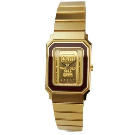 komplett vergoldete Armbanduhr von Catena
