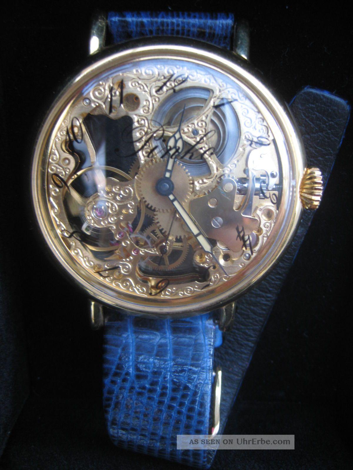 Aussergewhnliche Pinko Armbanduhr Damen Sichtbares